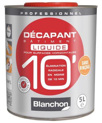 Décapant Bâtiment 10′ Liquide