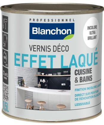 Vernis Déco Effet Laqué Cuisine & Bains